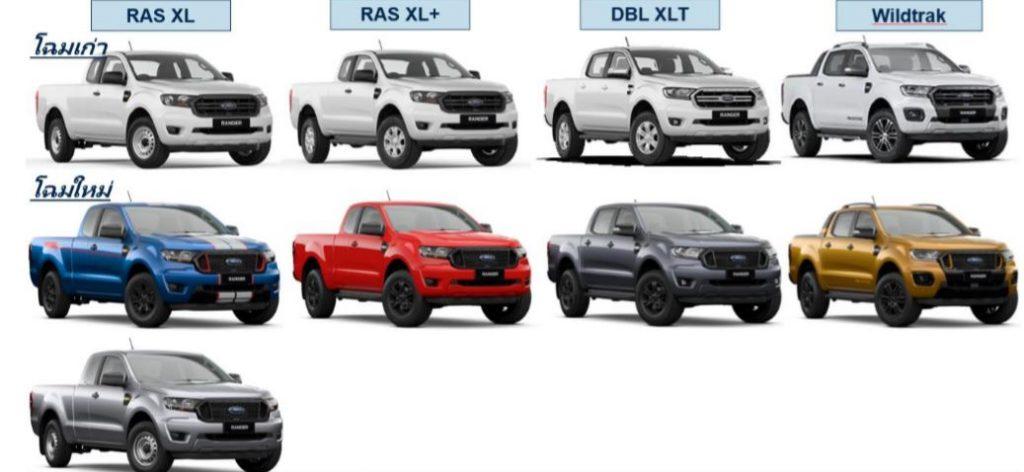 รีวิว ฟอร์ด เรนเจอรื 2021 New Ford Ranger ทุกรุ่นย่อย Ford XLT, XL และ อื่นๆ รายละเอียดการเปลี่ยนแปลง สิ่งที่เพิ่มจากรุ่นเดิม และราคาปัจจุบัน